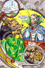 Planescape comic unity of rings ita italiano, A'kin arcanaloth sigil