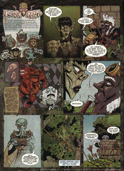 Downer 2 Fool's Errand pag.07 by Kyle Stanley Hunter - Dungeon Magazine 2003-2007 e Paizo Comics 2009