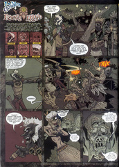 Downer 2 Fool's Errand pag.11 by Kyle Stanley Hunter - Dungeon Magazine 2003-2007 e Paizo Comics 2009