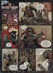 Downer 2 Fool's Errand pag.21 by Kyle Stanley Hunter - Dungeon Magazine 2003-2007 e Paizo Comics 2009