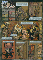 Downer 2 Fool's Errand pag.29 by Kyle Stanley Hunter - Dungeon Magazine 2003-2007 e Paizo Comics 2009