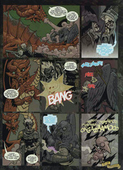Downer 2 Fool's Errand pag.34 by Kyle Stanley Hunter - Dungeon Magazine 2003-2007 e Paizo Comics 2009