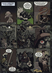 Downer 2 Fool's Errand pag.36 by Kyle Stanley Hunter - Dungeon Magazine 2003-2007 e Paizo Comics 2009