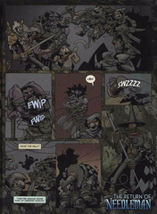 Downer 2 Fool's Errand pag.38 by Kyle Stanley Hunter - Dungeon Magazine 2003-2007 e Paizo Comics 2009