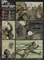 Downer 2 Fool's Errand pag.45 by Kyle Stanley Hunter - Dungeon Magazine 2003-2007 e Paizo Comics 2009