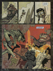 Downer 2 Fool's Errand pag.46 by Kyle Stanley Hunter - Dungeon Magazine 2003-2007 e Paizo Comics 2009