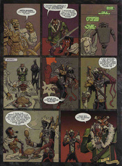 Downer 2 Fool's Errand pag.48 by Kyle Stanley Hunter - Dungeon Magazine 2003-2007 e Paizo Comics 2009