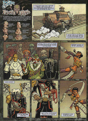 Downer 2 Fool's Errand pag.51 by Kyle Stanley Hunter - Dungeon Magazine 2003-2007 e Paizo Comics 2009