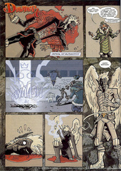 Downer 2 Fool's Errand pag.53 by Kyle Stanley Hunter - Dungeon Magazine 2003-2007 e Paizo Comics 2009