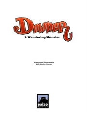 Downer 1 Wandering Monster pag.03 by Kyle Stanley Hunter - Paizo Comics 2007