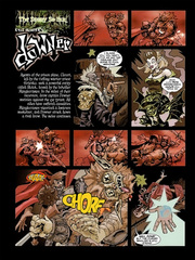 Downer 1 Wandering Monster pag.14 by Kyle Stanley Hunter - Paizo Comics 2007