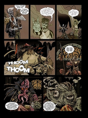 Downer 1 Wandering Monster pag.39 by Kyle Stanley Hunter - Paizo Comics 2007