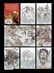 Downer 1 Wandering Monster pag.50 by Kyle Stanley Hunter - Paizo Comics 2007