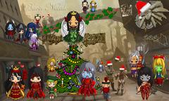 """nuvola planescape shard christmas concorso """"Buon Natale"""", come detto da altri: //Sembra Ragnarok meets Planescape// - by Araxan (PG Araxan D. Dragon) www.planescape.it (2013-12) © dell'autore e Ultima Online Planescape Shard"""