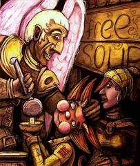 """steelgrave monadic deva """"Acts of Charity"""", Unity-of-Rings, il deva di Sigil - by steelgrave (Shaun) steelgrave.deviantart.com (2010) © dell'autore tutti i diritti riservati"""