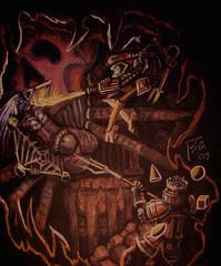 """steelgrave monodrone """"Bug Hunt"""", infestazioni da drider? - by steelgrave (Shaun) steelgrave.deviantart.com (2009) © dell'autore tutti i diritti riservati"""