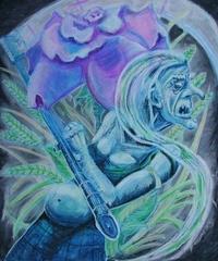 """steelgrave """"Chauntea"""", la Grande Madre- by steelgrave (Shaun) steelgrave.deviantart.com (2007) © dell'autore tutti i diritti riservati"""