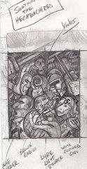 "steelgrave sketch ""Soothing the Hecatonchires"", schizzo - by steelgrave (Shaun) steelgrave.deviantart.com (2009) © dell'autore tutti i diritti riservati"