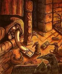 """steelgrave """"Trap's Set"""", Parakk l'Acchipparatti e i suoi amichetti - by steelgrave (Shaun) steelgrave.deviantart.com (2009) © dell'autore tutti i diritti riservati"""
