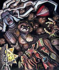 """steelgrave ravenloft """"The Banshees Keen"""", Tristessa la Signora Oscura di Keening - by steelgrave (Shaun) steelgrave.deviantart.com (2009) © dell'autore tutti i diritti riservati"""