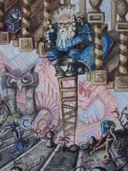 """steelgrave """"Wandering Amongst the Stairs"""", la Scalinata Infinita - by steelgrave (Shaun) steelgrave.deviantart.com (2008) © dell'autore tutti i diritti riservati"""