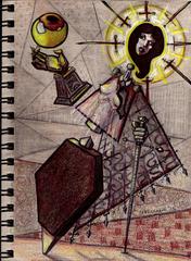"""steelgrave """"Angular Lady of Pain"""", chissà se la Signora apprezza l'arte... - by steelgrave (Shaun) steelgrave.deviantart.com (2013) © dell'autore tutti i diritti riservati"""