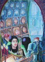 """steelgrave ravenloft """"Putting On Her Face"""", Jaqueline Montarri la senza testa - by steelgrave (Shaun) steelgrave.deviantart.com (2007) © dell'autore tutti i diritti riservati"""