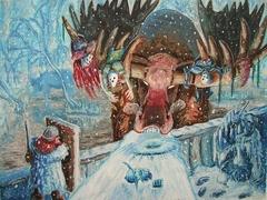 """steelgrave """"Dire Moose"""" - by steelgrave (Shaun) steelgrave.deviantart.com (2007) © dell'autore tutti i diritti riservati"""