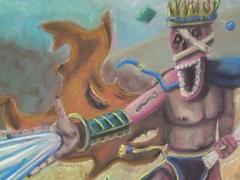 """steelgrave ravenloft """"Greater Mummy"""", mi sembra decisamente dai manuali di Ravenloft - by steelgrave (Shaun) steelgrave.deviantart.com (2006) © dell'autore tutti i diritti riservati"""