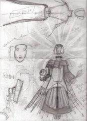 """steelgrave sketch """"Angular Lady of Pain"""", schizzo numero 1 - by steelgrave (Shaun) steelgrave.deviantart.com (2013) © dell'autore tutti i diritti riservati"""