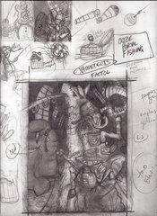 """steelgrave sketch """"Ooze Portal Fishing"""" schizzo 2 - by steelgrave (Shaun) steelgrave.deviantart.com (2013) © dell'autore tutti i diritti riservati"""