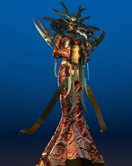 Lady of Pain Planescape Torment rendering preparatorio - (1999)