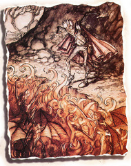 imps Le fiamme di Gehenna - by Tony Diterlizzi TSR - Planes of Conflict (1995-11) © Wizards of the Coast & Hasbro
