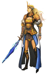 {$tags} Azata (eladrin) ghaele - by Alex Shim Pathfinder Roleplaying Game Bestiary (2009) © Paizo Publishing, Wizards of the Coast & Hasbro