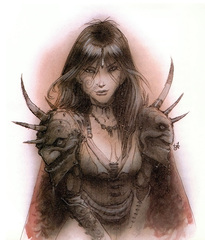 {$tags} Eladrin ghaele - by Tony Diterlizzi TSR Planescape Monstrous Compendium Appendix II (1995-09) © Wizards of the Coast & Hasbro