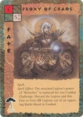 "eladrin ""Proxy of Chaos"", ghaele - by Tony Diterlizzi TSR - ""Blood Wars"" card game Pack 3, Powers & Proxies (1995) © Wizards of the Coast & Hasbro"