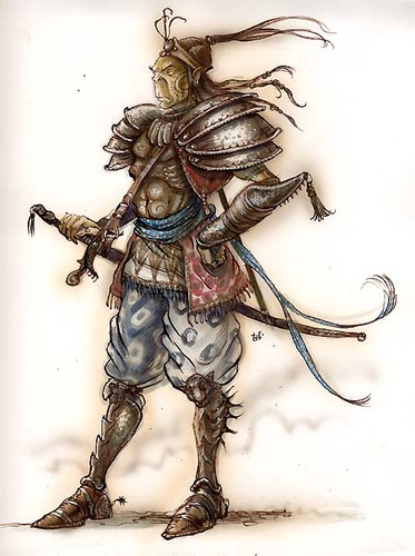 {$tags} Githyanki - by Tony Diterlizzi TSR - A Guide to Astral Plane (1996-10) © Wizards of the Coast & Hasbro