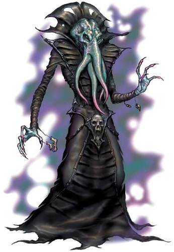 mind flayer Illithid, o Mind Flayer - by Todd Lockwood Monster Manual 3.5 (2003) © Wizards of the Coast & Hasbro