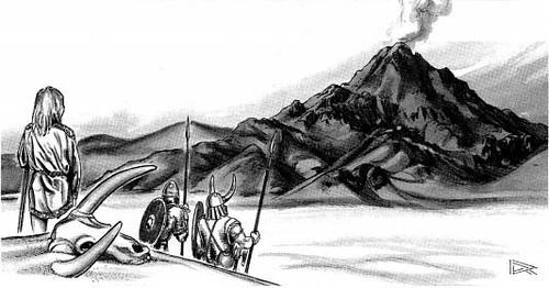 {$tags} Vista di Jotunheim - by Roger Raupp TSR - Dragon Magazine #90 (1984-10) © Wizards of the Coast & Hasbro