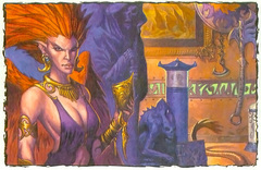 {$tags} Zulshyn la lillend - by Steve Prescott Dungeon Magazine #134 (2006-05) © Wizards of the Coast & Hasbro