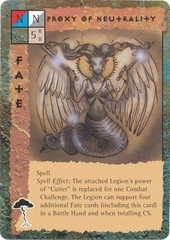 "{$tags} ""Proxy of Neutrality"", Lillend - by Tony Diterlizzi TSR - ""Blood Wars"" card game Escalation Pack 3, Powers & Proxies (1995) © Wizards of the Coast & Hasbro"