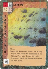 "plane ""Limbo"" - by Tony Diterlizzi TSR - ""Blood Wars"" card game Base Pack (1995) © Wizards of the Coast & Hasbro"