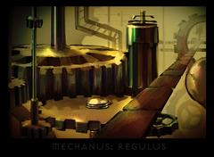 "ronamis ""Mechanus - Regulus"", cartolina dei Piani Esterni - by ronamis (Michael Malkin) ronamis.deviantart.com (2013) © dell'autore tutti i diritti riservati"
