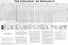 hierarchy of mechanus La gerarchia Modron su Mechanus TSR - Planes of Law (1995-01) © Wizards of the Coast & Hasbro