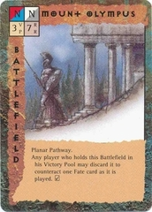 """astral """"Mount Olympus"""", le pendici del Monte Olimpo - by Tony Diterlizzi TSR - """"Blood Wars"""" card game Base Pack (1995) © Wizards of the Coast & Hasbro"""