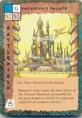 "mount celestia ""Bahamut's Palace"", il palazzo del dio-drago - by Newt Ewell TSR - ""Blood Wars"" card game Base Escalation Pack 3, Powers & Proxies (1995) © Wizards of the Coast & Hasbro"