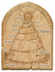 mount celestia scheme Schema di Celestia Manuale dei Piani (2005) © Wizards of the Coast, 25 Edition & Hasbro