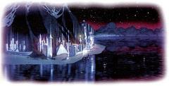 mount celestia Vista di Lunia - by Matt Cavotta TSR - The Planewalker's Handbook (1996) © Wizards of the Coast & Hasbro