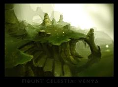 "ronamis ""Mount Celestia - Venya"", cartolina dei Piani Esterni - by ronamis (Michael Malkin) ronamis.deviantart.com (2013) © dell'autore tutti i diritti riservati"