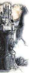 celestia La città di Soqed Hezi - by Tony Diterlizzi TSR - Planes of Law, Mount Celestia (1995-01) © Wizards of the Coast & Hasbro
